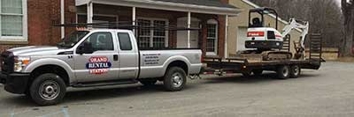 Equipment Delivery Service in Hackettstown NJ and Western New Jersey and Eastern Pennsylvania