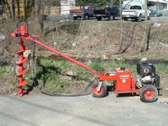 Rental store for AUGER, HYDRAULIC 11HP, 2 in Hackettstown NJ