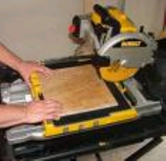Rental store for CERAMIC TILE SAW  1 in Hackettstown NJ