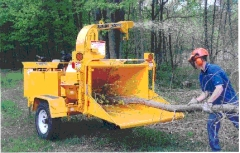 Rental store for CHIPPER,BRUSH 7  MODEL 90 37 HP in Hackettstown NJ