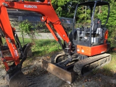 Rental store for MINI EXCAVATOR KUBOTA  KX033 W THUMB in Hackettstown NJ