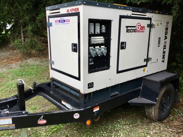 Towable generator 30k mega silent rentals Hackettstown NJ