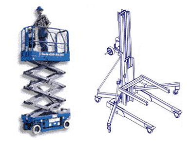 Manlift rentals in Western New Jersey and Eastern Pennsylvania